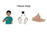 I Want Help Social Story and Activity