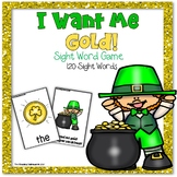 I Want Me Gold - Dolch Sight Word Game
