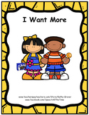 I Want More: An Early Intervention Story