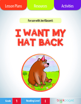 I Want My Hat Back Lesson Plans & Activities Package, Firs