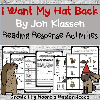 I Want My Hat Back Reading Response Activities