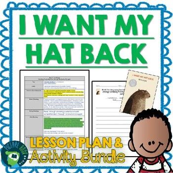 I Want My Hat Back by Jon Klassen Lesson Plan
