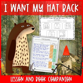 I Want My Hat Back by Jon Klassen Primary Lesson Plan for RL7