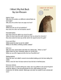 I Want My Hat Back by Jon Klassen Teaching Literary Skills with Picture Books