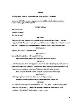 I Want My Mummy comedy script