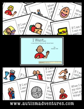 I Want...- Social Story for Student's with Autism