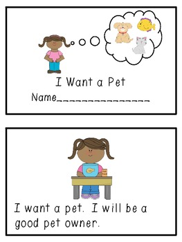 I Want a Pet: An Emergent Reader with Differentiated Word Study for Short Vowels