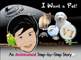 I Want a Pet - Animated Step-by-Step Story - VI