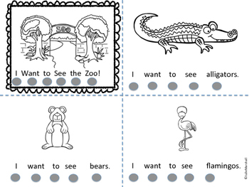 I Want to See the Zoo Emergent Reader