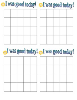 I Was Good Today Graphs