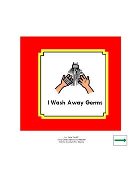I Wash Away Germs Hand Washing Social Story