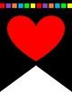 I (We) Love/Heart Writing Banner