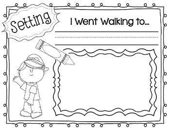 I Went Walking Activity
