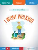 I Went Walking Lesson Plans & Activities Package, Kindergarten (CCSS)