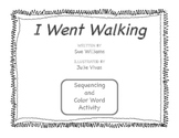 I Went Walking Sequencing Activity