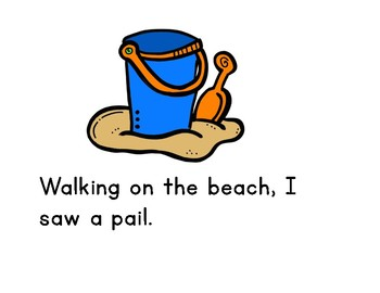 I Went Walking at the Beach : Shared Reading Book
