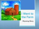 I Went to the Farm, Farm Themed Writing