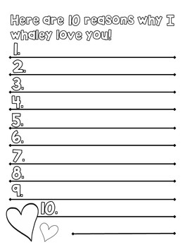 I Whaley Love You Mother's Day Card Templates (coloring pages)