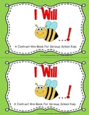 Student Behavior Contract Mini Book