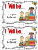 Student Behavior Contract Mini Book