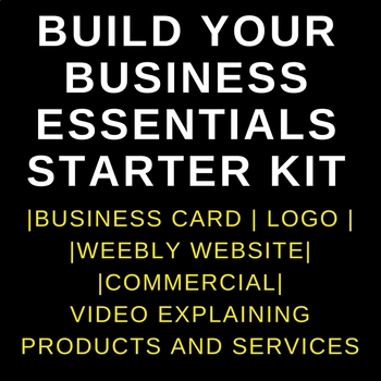 I Will Build A Professional Business Starter Kit For You