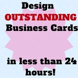 I Will Design Outstanding Business Cards In Less Than 24 Hours