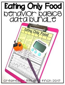 I Will Eat Only Food- Behavior Basics Data Bundle