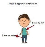 I Will Keep My Clothes On
