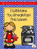 I Will Make You Breakfast This Week  {Ladybug Learning Projects}