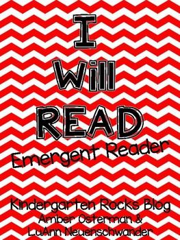 I Will Read Emergent Reader