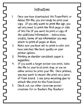 I Will Read Poster - for Reading/ELA Classroom or Library
