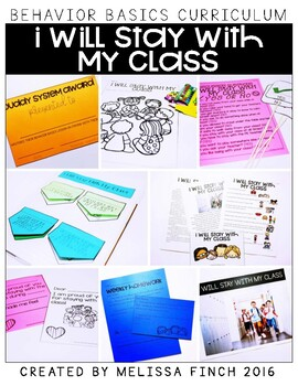 I Will Stay With My Class- Behavior Basics Program for Special Education