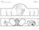 "Piggy and Elephant- ""I Will Surprise my Friend""- Headdress"