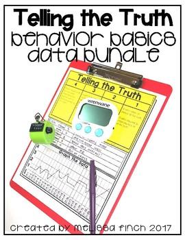 I Will Tell The Truth- Behavior Basics Data Bundle