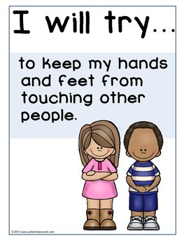 I Will Try Statements- Social Skills Support Posters (Rules - Elementary)