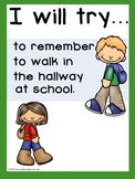 I Will Try Statements - Social Skills Support Posters  (Sample)