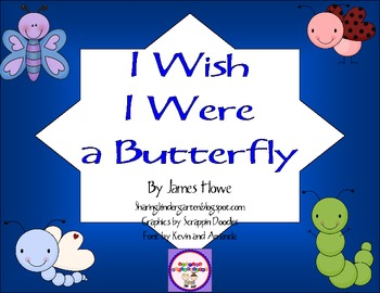 I Wish I Were a Butterfly Game and Writing Prompt