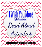 I Wish You More Read Aloud Activities