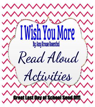 I Wish You More Read Aloud Activities