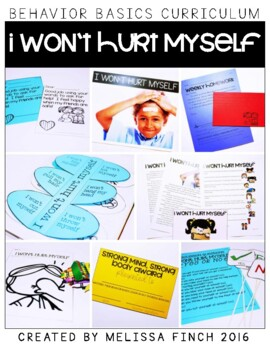 I Won't Hurt Myself- Behavior Basics Program for Special Education