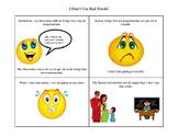 I Won't Repeat Bad Words, a Social Story for Using Appropr