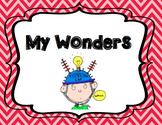 I Wonder Journal - Primary