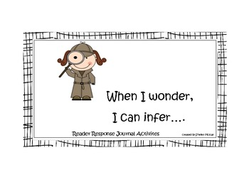 I Wonder To Infer