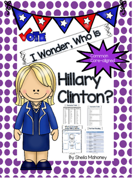 I Wonder, Who is Hillary Clinton?
