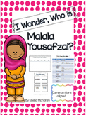 I Wonder, Who is Malala Yousafzai?