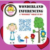 Inference Speech Therapy Activity-Wonderland Theme