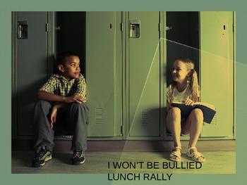 I Won't Be Bullied