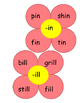 I Word Family Flowers