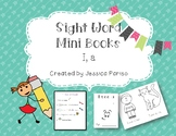 I & a Sight Word Mini Book FREEBIE!