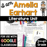 I am Amelia Earhart by Brad Meltzer Activities with Digital Option